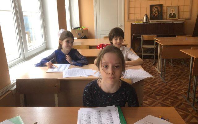 Возобновление занятий в воскресной школе