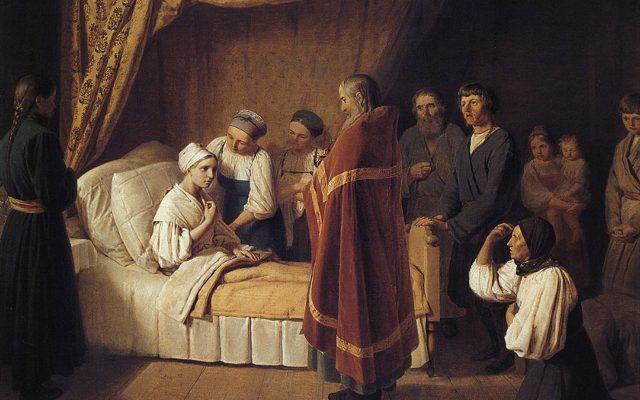 Таинство Елеосвящения в Великом Посту